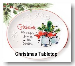 Christmas Tabletop and Linens (Sale)