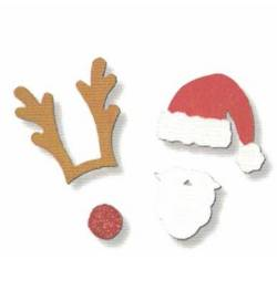 Christmas Photo Props Magnet Set