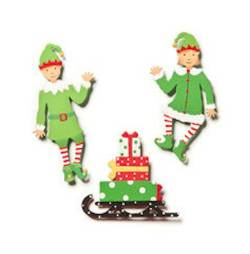 Elf Friend Magnets