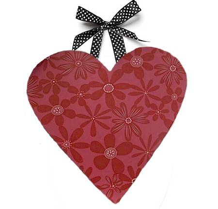 Patterned Heart Wall Art MAIN