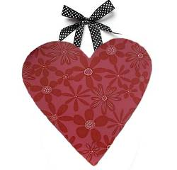 Patterned Heart Wall Art