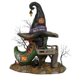Department 56 Witch Hollow Shoe Store
