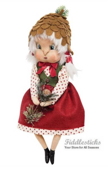Heather Pinecone Girl LARGE