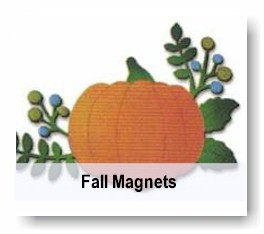 Fall magnetic decor