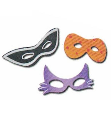 Halloween Mask Magnets LARGE