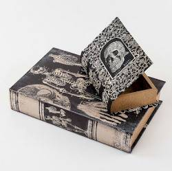 Skull Book Box THUMBNAIL