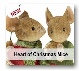 Heart of Christmas Mice