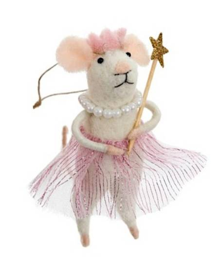 Princess Mouse with Pearls and Tutu