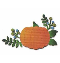 Pumpkin with Berries Magnet
