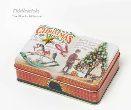 Christmas Tree Book Box