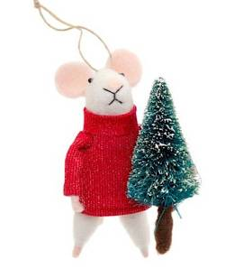 Mouse in Red Sweater with Christmas Tree_THUMBNAIL