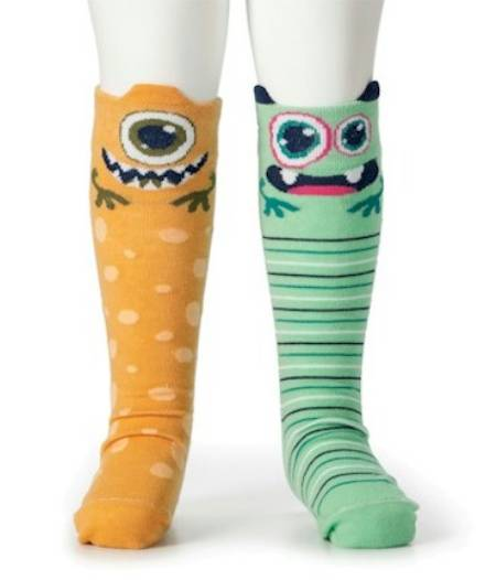 Aliens Knee Socks LARGE