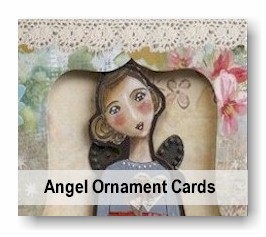 Angel Ornament Cards
