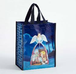 Nativity Angel Reusable Bag