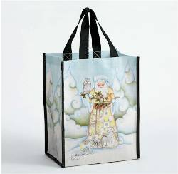 Woodland Santa Reusable Bag