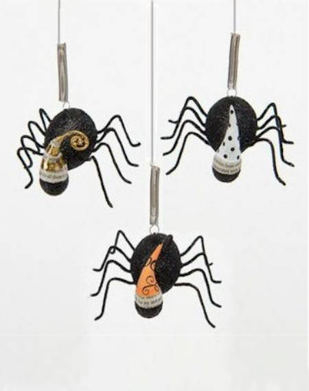 Bungee Spider Ornaments