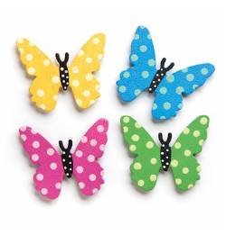 Polkadot Butterflies Magnets
