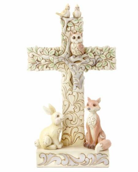Woodland Cross with Animals LARGE