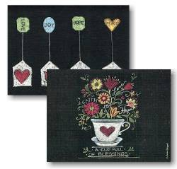 Cuppa Greetings Assorted  Boxed Note Cards THUMBNAIL