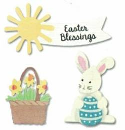 Easter Blessings Bunny with Egg Magnets THUMBNAIL