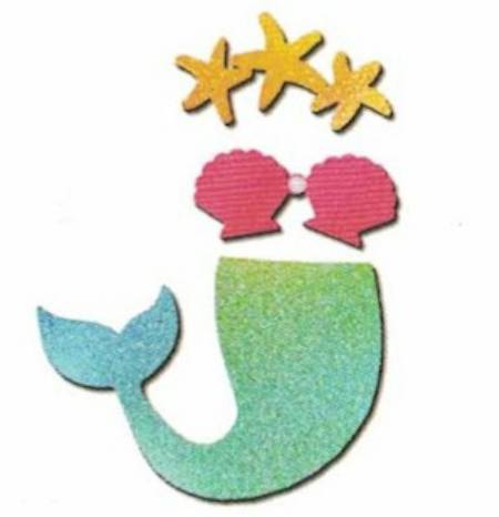 Mermaid Photo Prop Magnets_MAIN