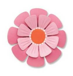 Pink Dimensional Flower Magnet_THUMBNAIL