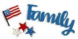 Family Patriotic Magnets THUMBNAIL