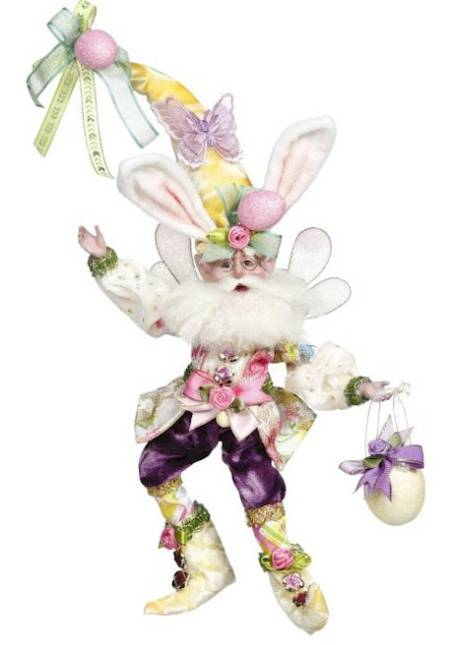 Easter Bunny Fairy with Basket