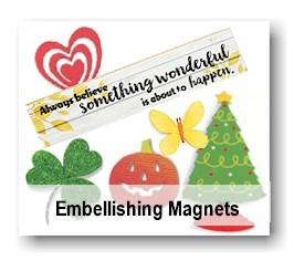 Embellishing Magnets