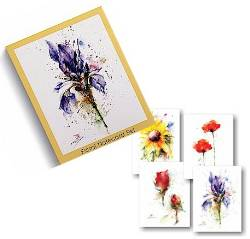 Floral Notecard Set THUMBNAIL