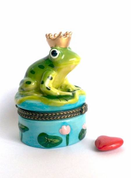 Frog King Hinged Box