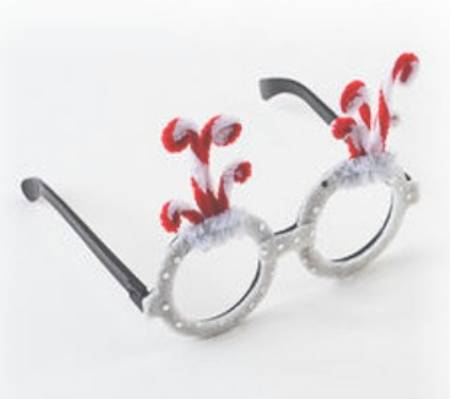 Candy Cane Glasses