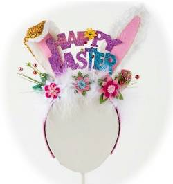 Easter Bunny Ears Headband THUMBNAIL