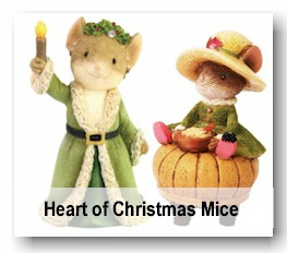 Heart of Christmas Mice - Christmas