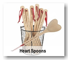 Heart Spoons
