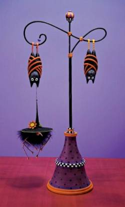 Halloween Ornament Displayer
