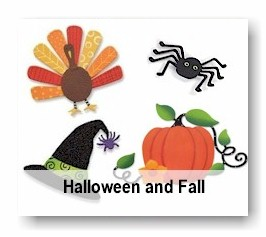 Fall & Halloween Magnets