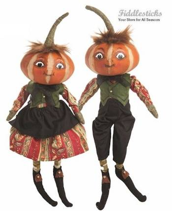 Kermit and Kimberly Harvest Pumpkin Head Kids_THUMBNAIL