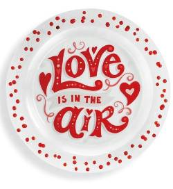 Love is in the Air Confetti Platter
