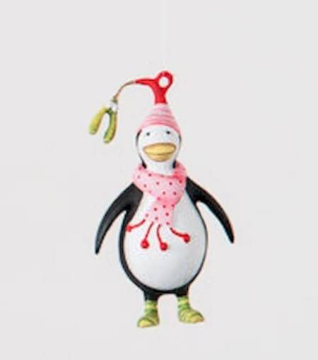 Mini Penguin Ornament