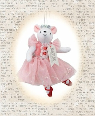 Maxine the Mouse Clara Ornament LARGE