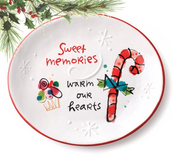 Sweet Memories Oval Plate MAIN