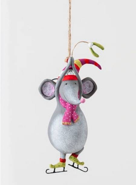 Pirouette Mouse Ornament