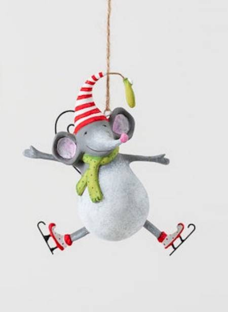 Joyful Mouse Ornament