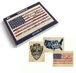 America Notecard Set THUMBNAIL