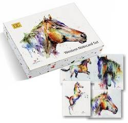Western Notecard Set