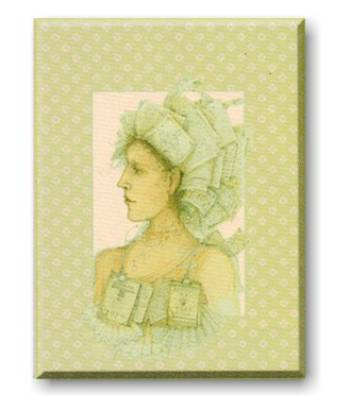 Woman of Letters Pocket Notepad