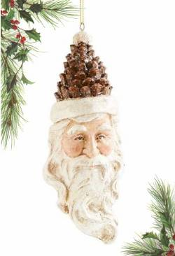 Pinecone Traditional Santa THUMBNAIL