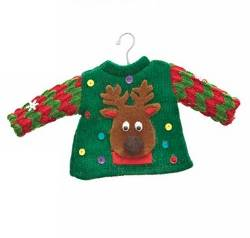 Reindeer Sweater Ornament