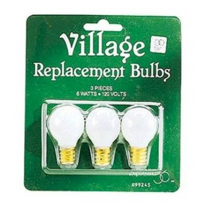 Replacement Light Bulbs - Round LARGE